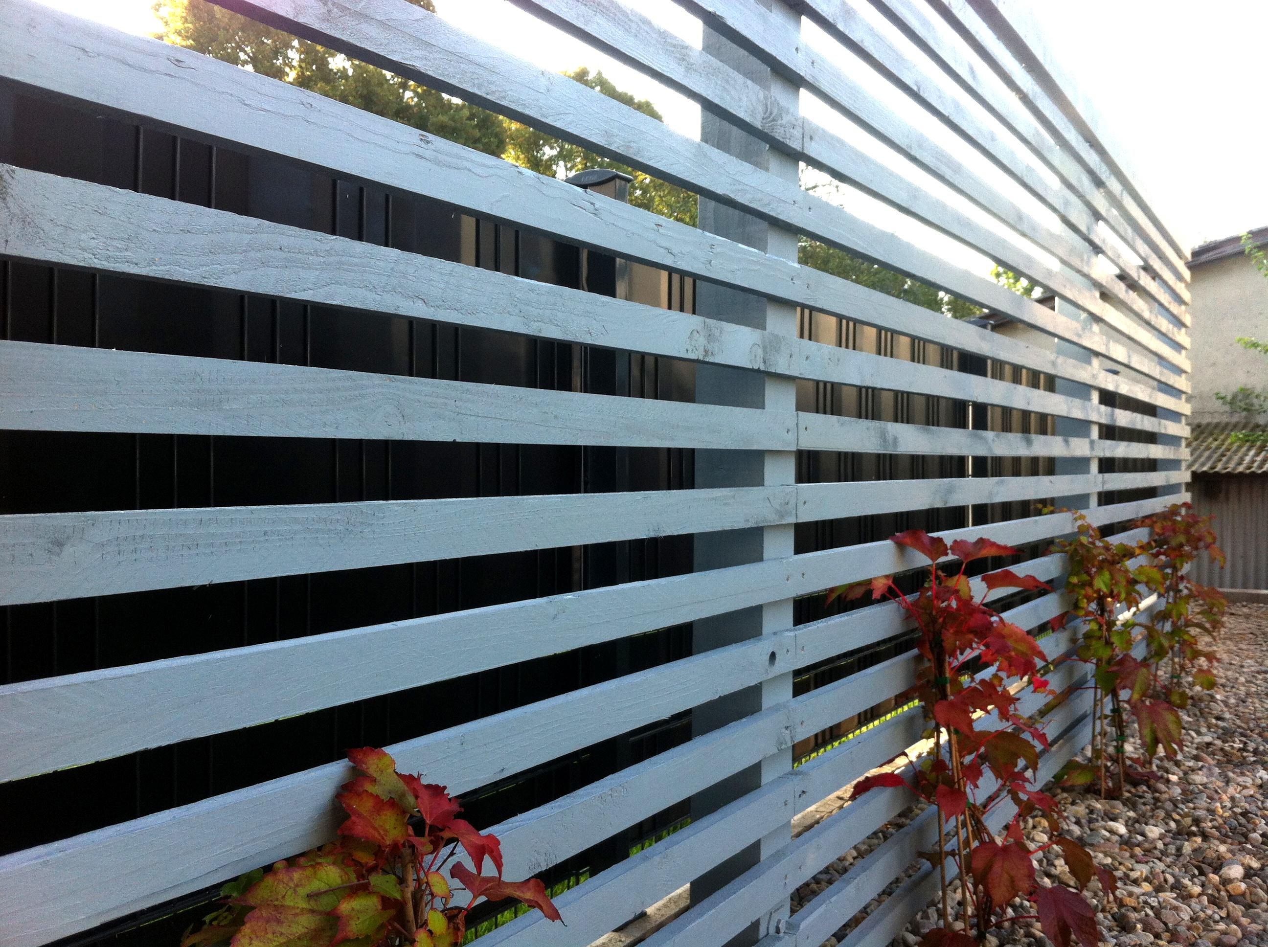 Pergola-aus-lasiertem-Fichtenholz-als-Sichtschutz-und-Rankhilfe-für-wilden-Wein-zwischen-zwei-Doppelhaushälften